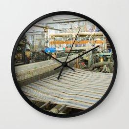 Cloth of the Loom Wall Clock