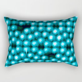 Even On An Atomic Level There Is No Perfection Rectangular Pillow