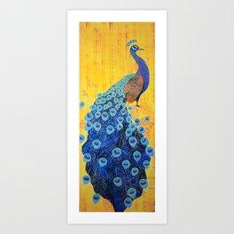 Peacock - Brave Art Print