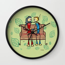 Life and living Wall Clock