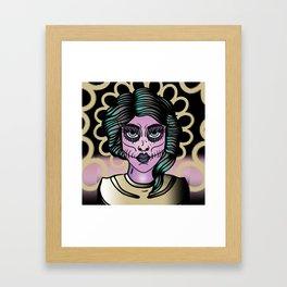 Martian Femme Framed Art Print