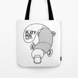 Platypus, Wildlife of Australia Tote Bag