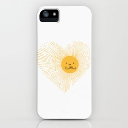 You are the Sunshine of my heart iPhone Case