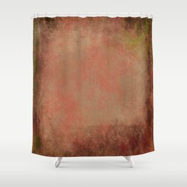 Colors of Red Gum Bark Shower Curtain