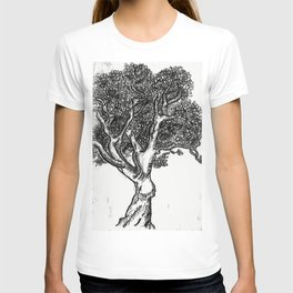 Tree Ink Print T-shirt