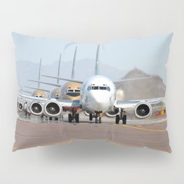 Busy Airport Lineup Pillow Sham