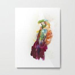 The parrot Metal Print
