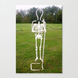 Bones E Canvas Print