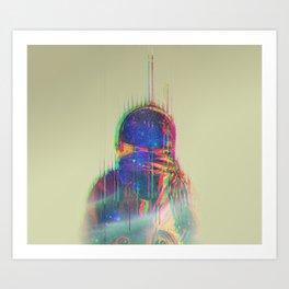 The Space Beyond - Astronaut Art Print