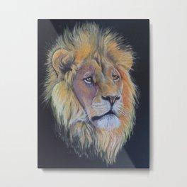 Magestic Lion Metal Print