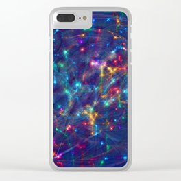 Christmas night Clear iPhone Case