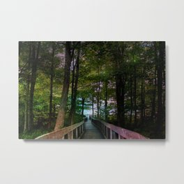Bridge to Paradise Metal Print