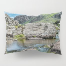 Tryfan Mountain Stream  Pillow Sham