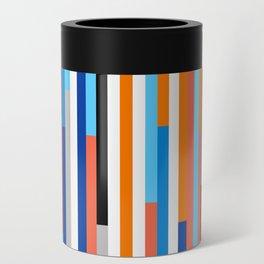Modern Stripe Can Cooler
