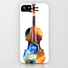 Violin Art By Sharon Cummings iPhone (5, 5s) Slim Case