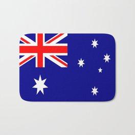 The Flag of Australia Bath Mat