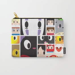World of Ghibli Blocks Carry-All Pouch