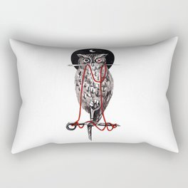 Needle Owl Rectangular Pillow