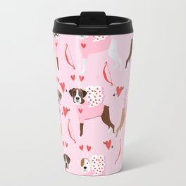 Boxer valentines day cute dog gifts pure breed rescue dogs must haves Travel Mug