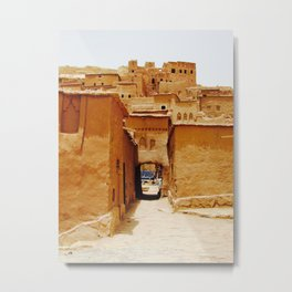 The Ancient City of Ait Benhaddou Metal Print