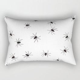 3D Spiders Rectangular Pillow
