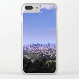 Mount Coot-tha Views Clear iPhone Case