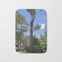 Corner of Haight and Ashbury in San Francisco Bath Mat