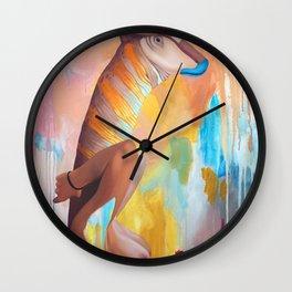 Parasaurolophus Lex Wall Clock