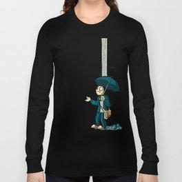 The Li'l Depressed Boy:  Lonely Heart Blues Long Sleeve T-shirt