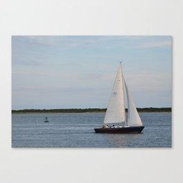 Nantucket Sail boat Canvas Print