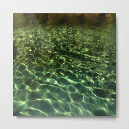 Water 1 Metal Print