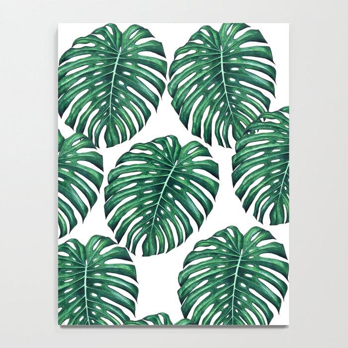 Monstera leaves Notebook