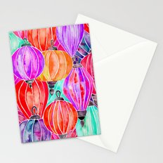 Vietnamese Lanters – Tertiary Palette Stationery Cards