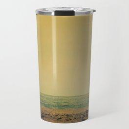 Waiting In Venice - California Surf Print Travel Mug