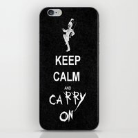 my chemical romance iPhone & iPod Skins featuring Keep Calm and Carry On: My Chemical Romance by alainaci