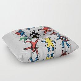 Keith Superheroes Floor Pillow