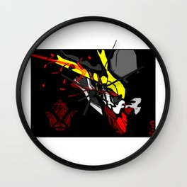 King of the Wolf ... BARBATOS LUPUS REX Wall Clock