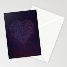 Double Heart Weave Stationery Cards