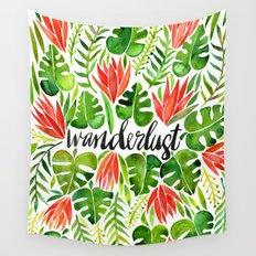 Tropical Wanderlust – Watermelon Palette Wall Tapestry