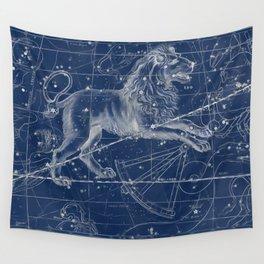 Leo sky star map Wall Tapestry