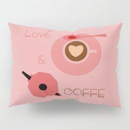 Love & Coffee Pillow Sham