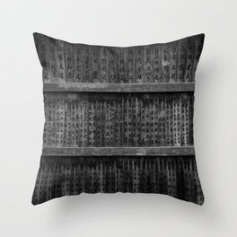 The writings Throw Pillow