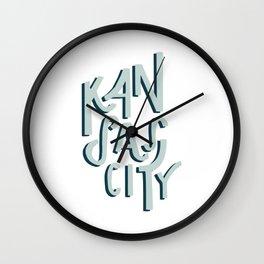 Kansas City Shadow Wall Clock