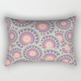 Mandala 390 (Floral) Rectangular Pillow
