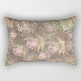 Framed Roses Rectangular Pillow