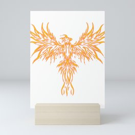 Phoenix Mythical  Vibrant Secular Long-Lived Gift  Mini Art Print