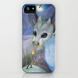 The Thief and the Fledgling iPhone Case