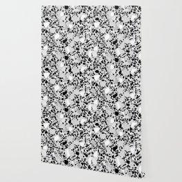 Real Terrazzo Stone Marble Concrete Mix Pattern Wallpaper
