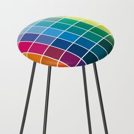Colorful Soul - All colors together Counter Stool