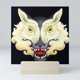 Wolf Lamb Mini Art Print